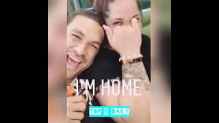 Download Jason Momoa celebrating Fathers Day in Honolulu Hawaii Video