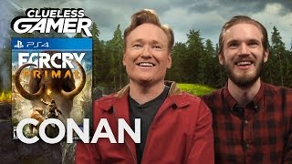 Download Clueless Gamer: ″Far Cry Primal″ With PewDiePie - CONAN on TBS Video