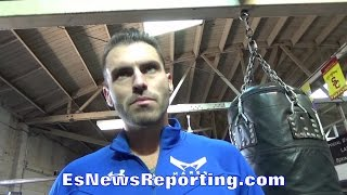 Download LUIS GARCIA ON WHAT HE NOTICED FROM ABNER MARES WITH ROBERT GARCIA OVER PRIOR TRAINERS Video