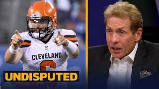 Download Skip Bayless on why the Browns should start Baker: he's 'ready to make a splash' | NFL | UNDISPUTED Video