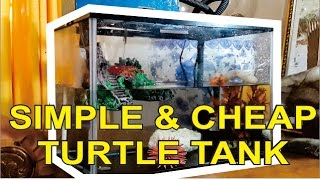 Download HOW TO SET UP SIMPLE & CHEAP TURTLE TANK DIY Video