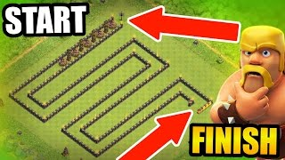 Download Clash Of Clans - WORLDS LARGEST TROLL BASE! - UNDEFEATED SNAKE TROLL! Video