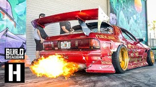 Download Hert Shreds His Fire Breathing Rotary Powered Mazda RX7 - The Twerkstallion! Video
