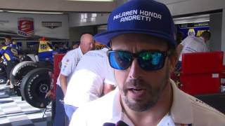 Download Alonso tops 231 mph average on Fast Friday at Indy Video