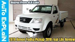 Download Tata Xenon Yodha Pickup 4By4 2018 Real-Life Review-Better Than Mahindra Bolero pickup? Video
