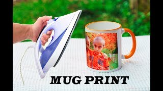 Download How to Print Your Favourite Photo on Mug at home - Using Electric Iron Video