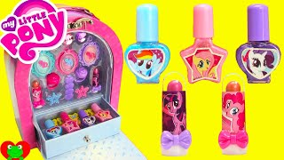 Download My Little Pony Makeup Case Nail Polish Lip Gloss Surprises Video