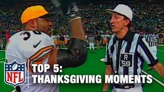 Download Top 5 Thanksgiving Day Moments | NFL Now Video