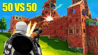 Download The BIGGEST 50 v 50 Fight! *NEW* Fortnite GameMode! Video