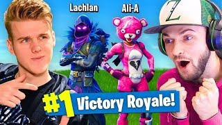 Download DUOS With Ali-A In Fortnite Battle Royale! Video