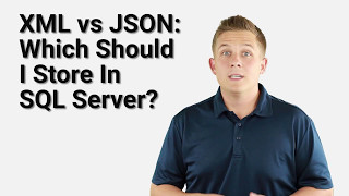 Download XML vs JSON in SQL Server 2016 Video
