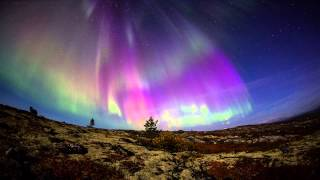 Download Полярное сияние 13.09.2014 (Aurora Borealis 2014) HD Video