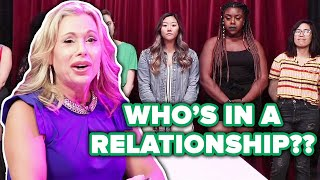 Download Psychic Guesses Peoples' Relationship Status Out Of A Lineup Video