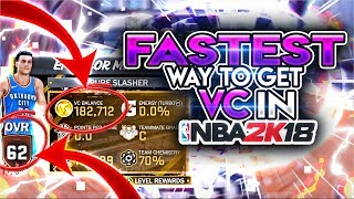 Download FASTEST WAY TO GET VC IN NBA 2K18 AFTER PATCHES! (STOP GRINDING! FASTEST VC METHOD!!) Video