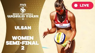 Download Ulsan 1-Star - 2018 FIVB Beach Volleyball World Tour – Women Semi Final 2 Video