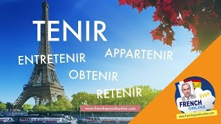 Download Tenir in French - Family verbs Video