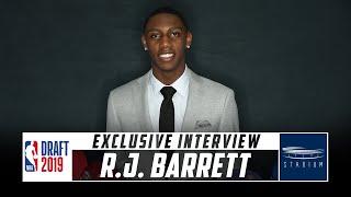 Download NBA Draft Prospect R.J. Barrett Talks to Shams Charania | Stadium Video