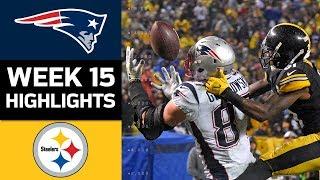 Download Patriots vs. Steelers | NFL Week 15 Game Highlights Video
