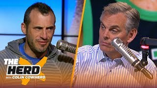 Download Kyrie has better 'scoring skills' than Steph, likes a Rosen to NY Giants trade — Gottlieb   THE HERD Video