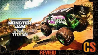Download MONSTER JAM: STEEL TITANS - PS4 REVIEW Video