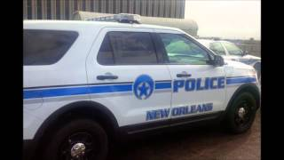 Download New Orleans Police car showcase Video
