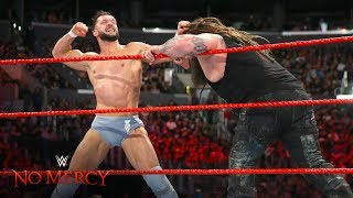 Download Finn Bálor furiously retaliates after Bray Wyatt's pre-match attack: WWE No Mercy 2017 Video