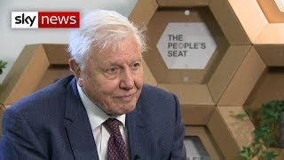 Download Sir David Attenborough urges leaders to aim 'high' at climate talks Video