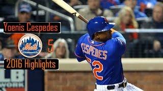 Download Yoenis Cespedes ″Mets″ 2016 Highlights! Video