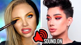 Download I Used ONLY THE VOICEOVER to Follow A James Charles Makeup Tutorial Video