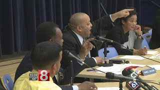 Download Near brawl erupts at New Haven school board meeting Video