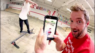 Download VIDEO GAME Vs SKATEBOARDER! / Who Is Better!? Video
