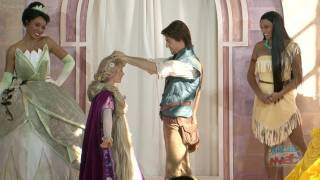 Download Rapunzel becomes 10th Disney Princess with procession and coronation ceremony in London palace Video