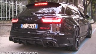 Download INSANE Sounding ABT RS6-R w/ Straight Pipes Dekat Milltek Exhaust! Video