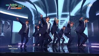 Download 뮤직뱅크 Music Bank - 미치게 해 - 업텐션 (Going Crazy - UP10TION).20171013 Video