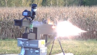 Download Backyard RAILGUN: Field Testing the 250 lb Electric Gun, 27,000 Joule (max) Video