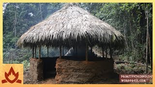 Download Primitive Technology: Round hut Video