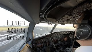 Download Full flight from Schiphol runway 36L to Rotterdam, landing runway 24. Video