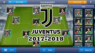 Download JUVENTUS 2017-2018 - DREAM LEAGUE SOCCER 2017 SAVE DATA MOD Video