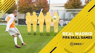 Download FIFA 17 - Real Madrid Skill Games Challenge - Ft. James, Benzema, Carvajal, Navas Video