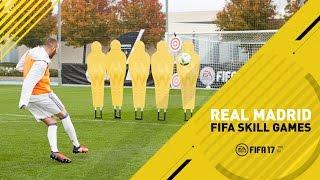 Download FIFA 17 - Real Madrid Skill Games Challenge - Ft. James, Benzema, Carvajal, Navas Video