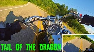 Download Sportbike VS Cruiser - Tail of the Dragon (RAW) Video