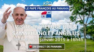 Download Visite du pape François au foyer du Bon Samaritain et Angélus Video