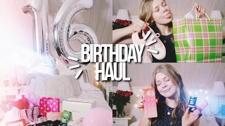 Download WHAT I GOT FOR MY 16th BIRTHDAY! // Birthday Haul 2017! Makeup, Lush + more! Video