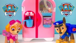 Download Paw Patrol Play with Refrigerator Food Cooking Video