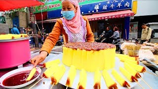 Download Chinese Street Food in Xi'an - MUSLIM Street Food in China + INCREDIBLE Chinese Food Market (HALAL) Video