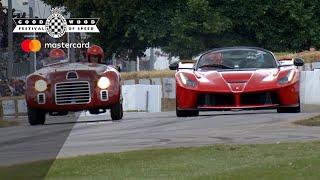 Download Ferrari LaFerrari Aperta and stunning 125S battle on track at #FOS Video