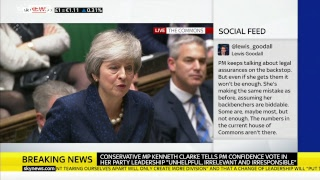 Download PMQs: May faces Corbyn after confidence vote triggered Video