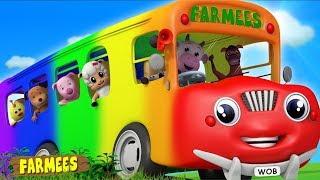 Download Wheels on the Bus | Nursery Rhymes & Kids Songs | Cartoon Videos for Children Video