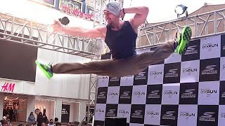Download Tiger Shroff's AMAZING Stunts In Real Life At Phoenix Mall In Mumbai Video