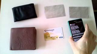 Download Contactless RFID Credit Card Protector Protection Demo part1 Video